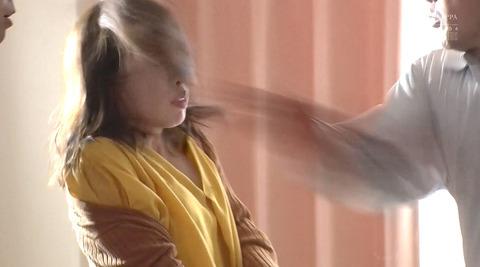 松ゆきの_ビンタ暴行乱暴暴力で踏み付レイプされる女のAVエロ画像181
