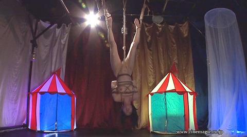 葉月桃 逆さ吊りにされて 強烈ビンタされる女の画像 149