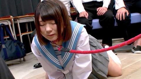 篠崎みお 首輪調教 性的玩具にされる女 足舐め 放尿 強姦 14