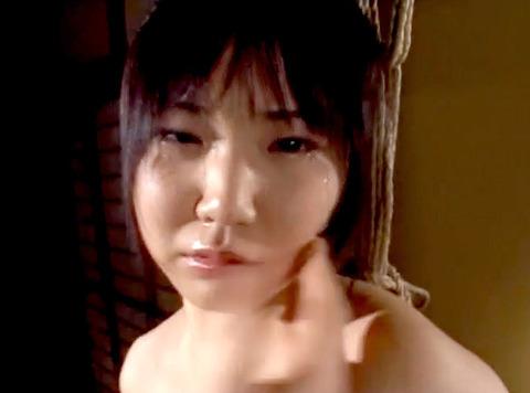 宮咲志帆 ビンタ 強烈ビンタ 緊縛ビンタされる女のAV画像 08