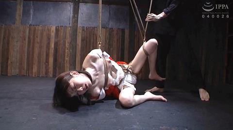 有坂深雪 残酷な吊り責めをされて鞭打たれてSM調教される女 186