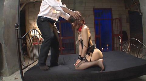 鈴村あいり 首輪と四つん這いでM女調教画像175