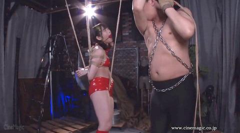 葉月桃 逆さ吊りにされて 強烈ビンタされる女の画像 135