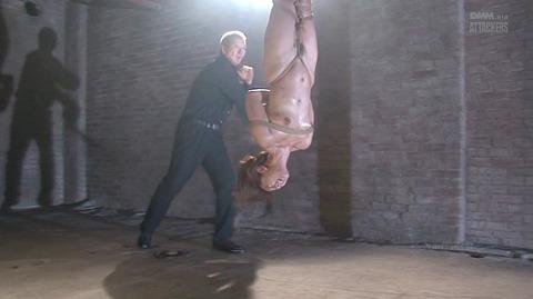 結城みさ 拷問ハードSM 残酷鞭打ち 拷問緊縛 逆さ吊り AVエロ画像 45