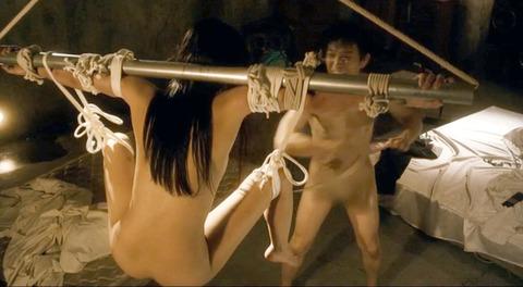 甘い鞭 間宮夕貴 裸 ヌード 監禁 性虐奴隷 エロ画像12