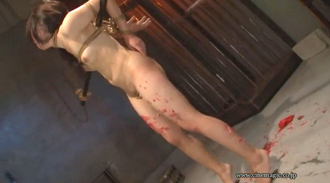 中野ありさ ハードSM拷問調教 電流責め ビンタがエロイ画像 68