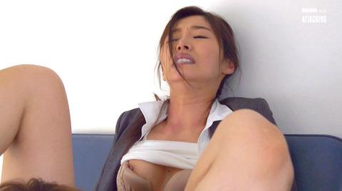 夏目彩春 身代わり強制レイプ 抵抗不能で犯される女のエロAV画像 233