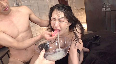晶エリー喉奥限界調教むごいイラマチオ嘔吐フェラ女のAVエロ画像88