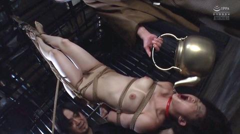SM調教 逆さ吊り 水責め 屈辱 ビンタ 調教される 妃月るい画像78
