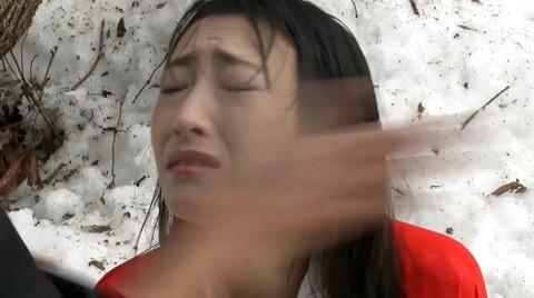 神納花 極寒 雪中SM調教 寒さ責めされる女76