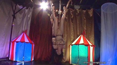 葉月桃 逆さ吊りにされて 強烈ビンタされる女の画像 151