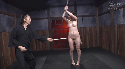 宮崎あや 残酷SM調教 一本鞭 吊られて一本鞭 拷問調教される女 56