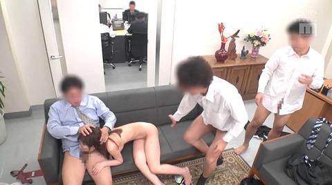九重かんな サークルレイプ 集団強姦 性奴隷 犯される女の AV画像 42
