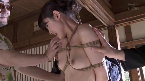 森沢かな SM緊縛 縄調教される女56