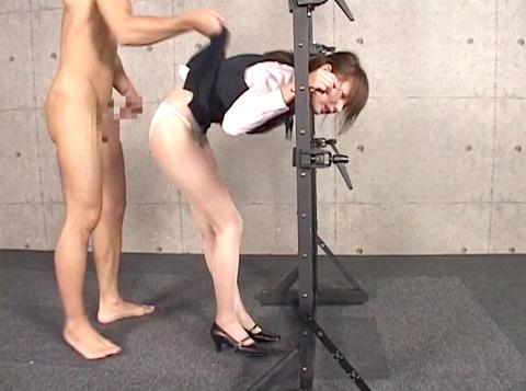 妃悠愛 首吊りSM調教 嬲られ性玩具奴隷女 AVエロ画像 42