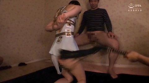 北川ゆず 鞭打たれ絶対服従奴隷に調教される女85