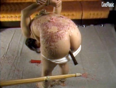 加賀恵子 虐待SM 竹刀で打たれ 拷問される女の画像 41