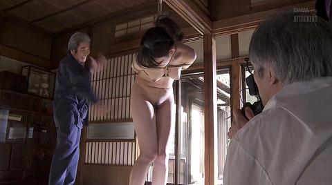 森沢かな SM緊縛 縄調教される女58
