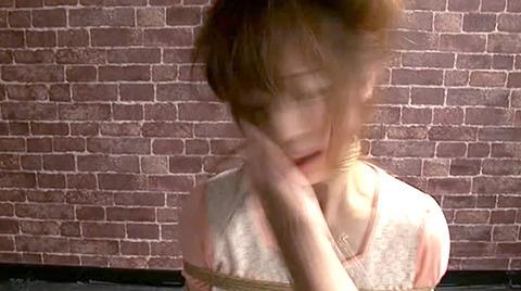 樹花凛 ビンタされる女 首吊り すのこ正座 拷問SMエロ画像 142
