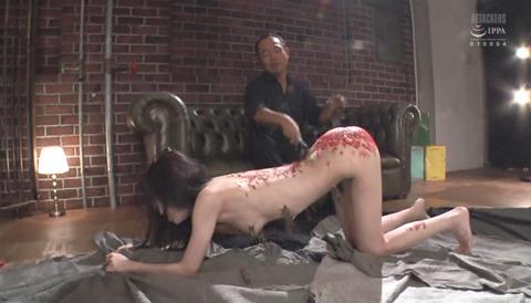 有坂深雪 SM拷問調教 胸鞭 逆さ吊り 暴虐を受ける女の画像 307