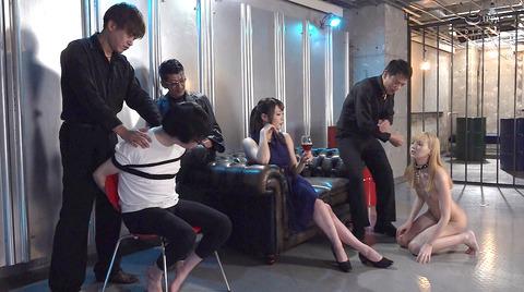 西田カリナ 強烈鞭打ち調教 足舐め 排泄管理される女AVエロ画像 146