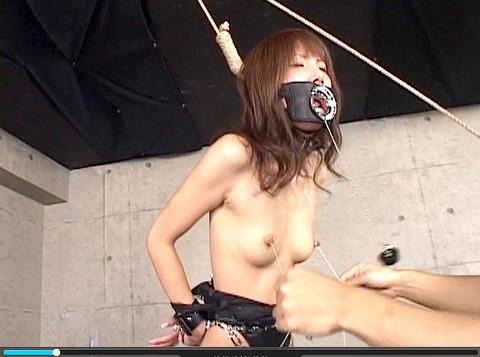 妃悠愛 首吊りSM調教 嬲られ性玩具奴隷女 AVエロ画像 53