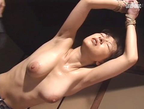 篠原真女 縛られて 鞭打たれ 汗だくでSM調教を受ける女の画像 18