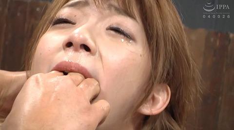 麻里梨夏 強制フェラ ビンタ鞭打ち SM性玩具にされる女の画像 51