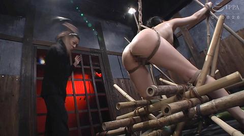 宮崎あや 残酷SM調教 一本鞭 吊られて一本鞭 拷問調教される女 38