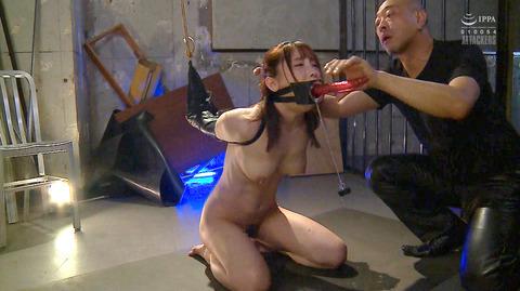 松ゆきの 胸鞭連打 首吊り 拷問 残酷SM調教される女のエロ画像 78