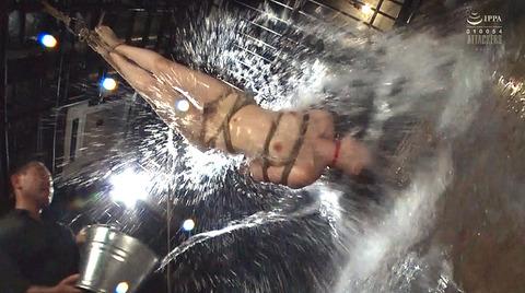 SM調教 逆さ吊り 水責め 屈辱 ビンタ 調教される 妃月るい画像81