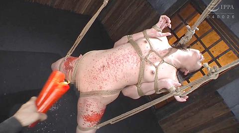 強烈ビンタ 拷問イラマチオ SM調教される 七海ゆあ AV エロ画像 244