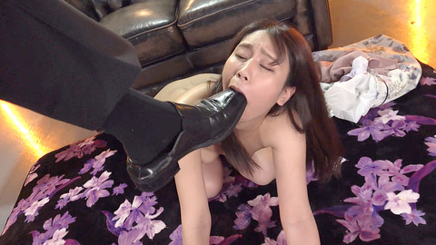 中尾芽衣子 靴を舐め ビンタされ 鞭打たれる 女の AV エロ 画像 186