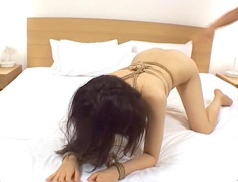早乙女ルイ_緊縛ビンタされて性玩具にされるマゾ女のAVエロ画像_41