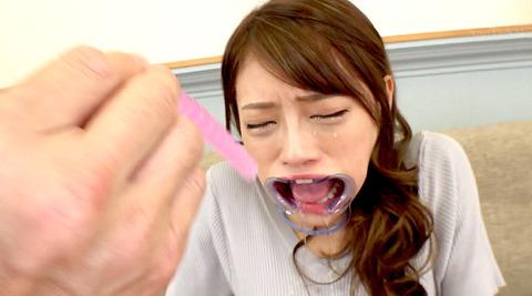 七海ひな 喉ボコ 拷問 喉奥 イラマチオ調教 AVエロビデオ 画像 09