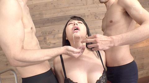 晶エリー喉奥限界調教むごいイラマチオ嘔吐フェラ女のAVエロ画像78