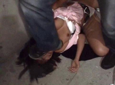 白石優 人格無視の 非道な強姦 レイプ AV画像 04