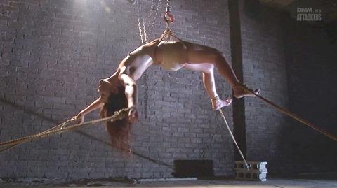 結城みさ 拷問ハードSM 残酷鞭打ち 拷問緊縛 逆さ吊り AVエロ画像 08