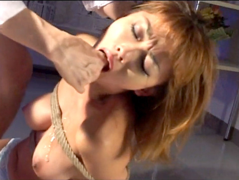 桜田さくらM女時代 足舐め 床舐め 強制飲尿 屈辱調教されるM女 37