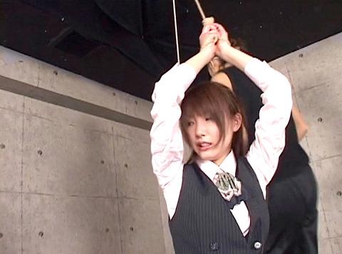 妃悠愛 首吊りSM調教 嬲られ性玩具奴隷女 AVエロ画像 32