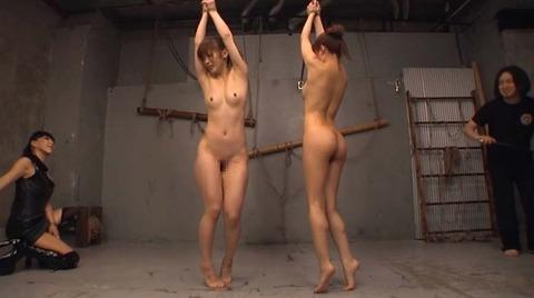 立ち縛り 連縛 一本鞭 AV エロビデオ 美咲結衣