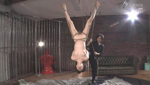 有坂深雪 SM拷問調教 胸鞭 逆さ吊り 暴虐を受ける女の画像 287