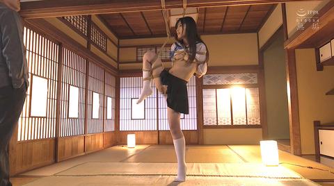 久留木玲 縛られて SM調教 乱暴に犯される女 AVエロ画像 kurukirei45
