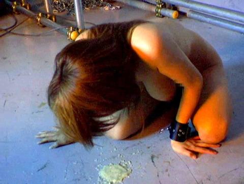 星ありす 惨めにSM調教される女のAVエロ画像 57