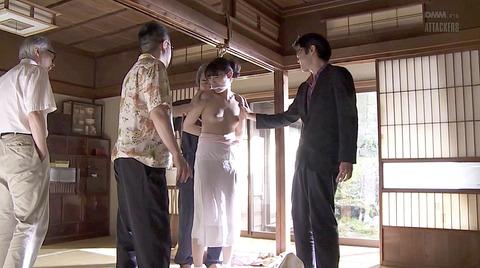 森沢かな SM緊縛 縄調教される女51