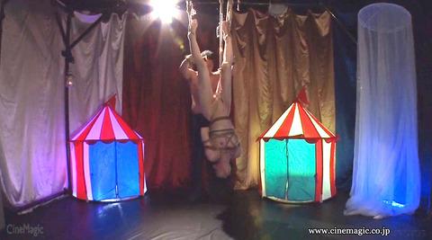 葉月桃 逆さ吊りにされて 強烈ビンタされる女の画像 152