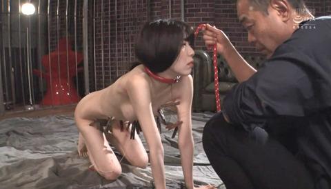 有坂深雪 SM拷問調教 胸鞭 逆さ吊り 暴虐を受ける女の画像 300