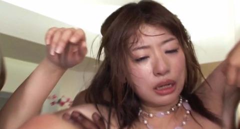 マジ泣きAV 泣きながら黒人4人に輪姦される M女 初美沙希 AVビデオ