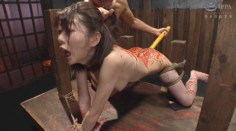 有坂深雪 残酷な吊り責めをされて鞭打たれてSM調教される女 214
