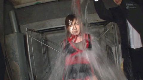 波多野結衣 水責めSM調教 強制フェラ調教 AVエロ画像 170
